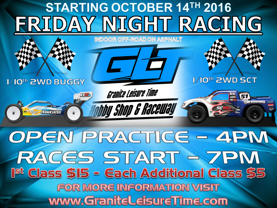 Friday Night Racing @ Granite Leisure Time | Oakland | Maine | United States